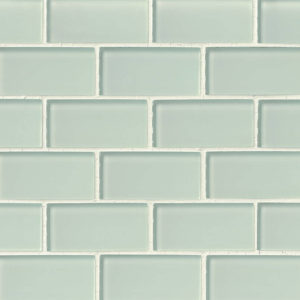 Arctic Ice Glass Subway Tile 2x4