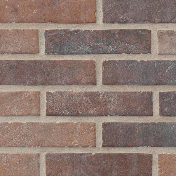 Brickstone-Red-2X10 Porcelain Tile