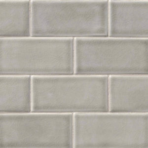 Dove Gray Subway Tile 3x6