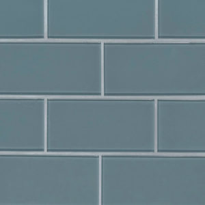 Harbor Gray Subway Tile 3x6x8mm