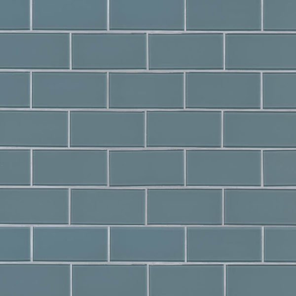 Harbor Gray Subway Tile 3x6x8mm