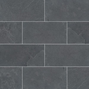 Montauk Black Subway Tile 3x6
