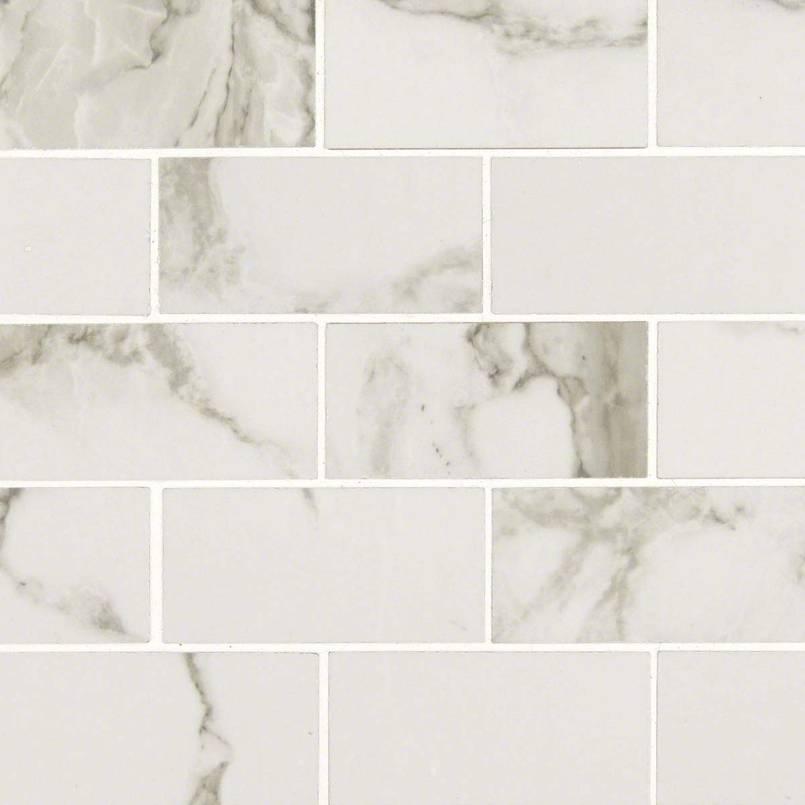 Statuario-2x4 Porcelain Tile