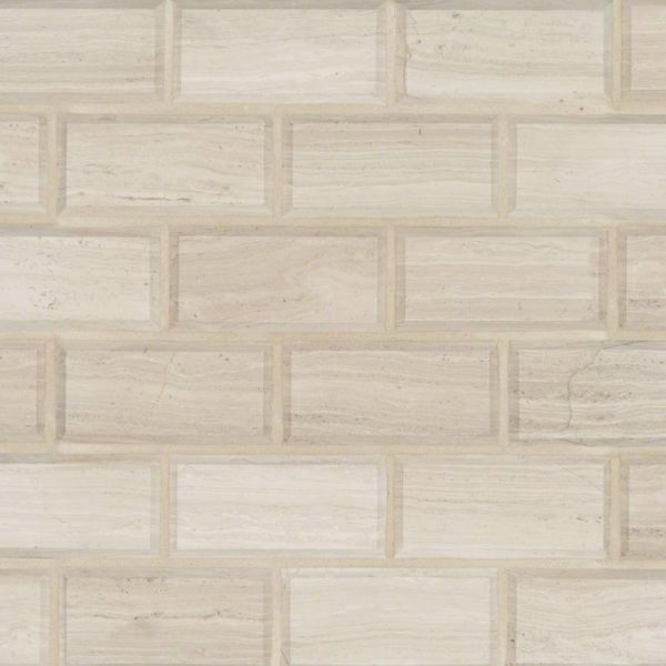 White Oak Subway Tile 2x4