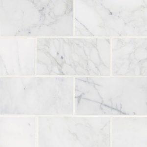 Calacatta Cressa White Subway Tile 3x6